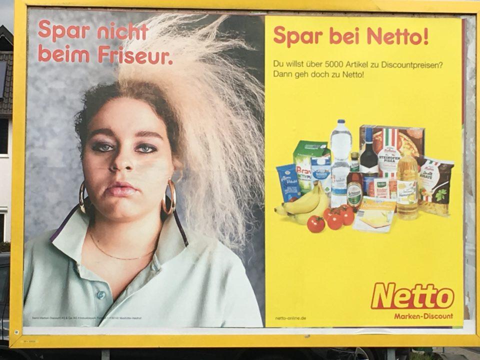 Netto Plakat